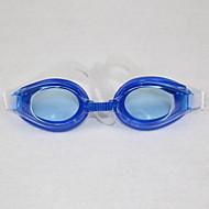 No Lunettes de natation Enfant Taille ajustable / Sangle antidérapant Polyuréthane PC Bleu Bleu