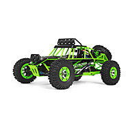 Buggy WLToys RC 1:12 Brush Electric RC Car 2.4G Green Ready-To-GoRemote Control Car / Remote Controller/Transmitter / Battery Charger /