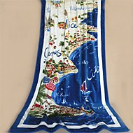 """Fashion Patterned Full Cotton Beach Towel 70.8"""" by 41.3"""""""