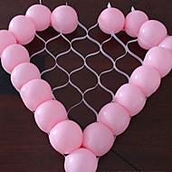 hjerte form ballong rutenett GDS fest bryllup bursdag dekorasjon (ikke inneholde ballong)