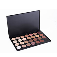 28 Paleta de Sombras Secos Paleta da sombra Pó NormalMaquiagem Esfumada / Maquiagem para Halloween / Maquiagem de Festa / Maquiagem para