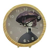 Mute Cute Digital Multi-functional Alarm Clock (Random Color)