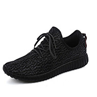 Running Shoes Men's Anti-Slip / Wearproof / Breathable / Zero Wear-in Time Coconut Shoes Leisure Sports Gray / Black