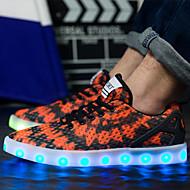נעלי נשים-סניקרס אופנתיים-טול-בלרינה / חדשני-כתום-חתונה / שטח / משרד ועבודה / קז'ואל / ספורט / מסיבה וערב-עקב שטוח