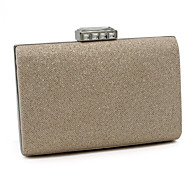 Women-Casual / Event/Party-Other Leather Type-Evening Bag-Gold