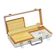 Royal St. mini úti kis mahjong mahjong lapok 23 mm kristály turizmus arany alumínium doboz 23 mm arany / alumínium dobozok