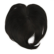 peruka czarna wymiana drutu 10cm wysokotemperaturowy grzywka kolor 2/33