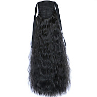 Black Deep Wave Lace Wig Corn Hot Ponytails 2