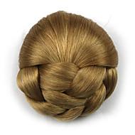 comprimento peruca noiva marrom contratação cinco centímetros Kinky sintética cor encaracolado alta temperatura 1011