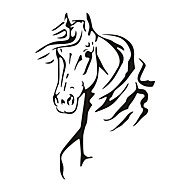 AYA™ DIY Wall Stickers Wall Decals, Horse Head Wall Sticker Type PVC Wall Stickers