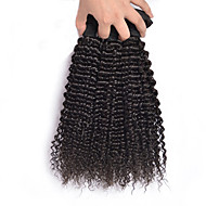 """3Pc/Lot 12""""-26"""" Malaysia Virgin Hair Kinky Curly Human Hair Extensions 100% Unprocessed Malaysia Remy Hair Weaves"""