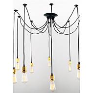 Max 60W וינטאג' סגנון קטן Brass מתכת מנורות תלויות חדר שינה / חדר אוכל / מטבח / חדר עבודה / משרד / כניסה / חדר משחקים / מסדרון