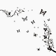 Zvířata / Botanický motiv / Zátiší / Módní / květiny / Retro / Volný čas Samolepky na zeď Samolepky na stěnu,PVC 90*60*0.1