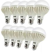 7W E26/E27 LED-pallolamput C35 12 SMD 5630 600 lm Lämmin valkoinen Koristeltu AC 220-240 V 10 kpl