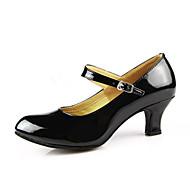 Женская обувь - Лакированная кожа - Номера Настраиваемый ( Черный/Красный/Серебряный/Золотой ) - Современный танец
