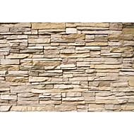 moderne skinnende lær effekten stor mur tapet 3d murstein art vegg dekor vegg papir