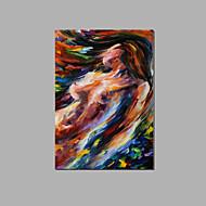 フレームとハングアップする準備ができて抽象ヌード女性壁の芸術家のホテルの装飾手塗りの油絵