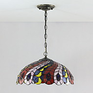 MONTARGIS - Lustre Tiffany com 2 Lâmpadas