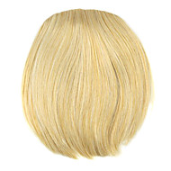 Perücke golden 8cm Hochtemperatur-Draht-Stil Pony Farbe 1003