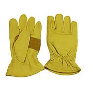 Kuhhaut rutschfeste Verschleiß resistin Handschuh