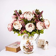 "18.9"" European Style Artificial Flowers Large Flower Peony Flower"