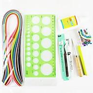 120pcs Quilling hârtie ambarcațiuni DIY kit decor art / 7pcs set