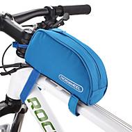 ROSWHEEL® Sykkelveske 1LVesker til sykkelramme Vanntett Glidelås / Fukt-sikker / Støtsikker / Anvendelig Sykkelveske PVC / 600D Polyester