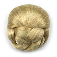 Phenomenal Wedding Bridal Updo Chignon Bun Clips Braids Synthetic Straight Short Hairstyles For Black Women Fulllsitofus