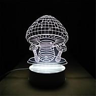 novità creativa 3d regali di nozze bambini notturna bambini regalo di compleanno stereo lampada da letto studio camera