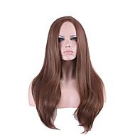 best-seller in Europa e gli Stati Uniti una parrucca in punti di colore marrone scuro naturale capelli dritti lungo 26 pollici