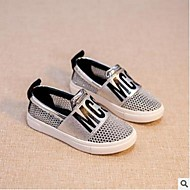 Boys' Shoes Outdoor / Casual Tulle Loafers & Slip-Ons Spring / Summer Flats Others Black / Silver / Gold