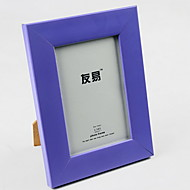 "5""Plastic Picture Frame for Home Decoration(Random Color)"