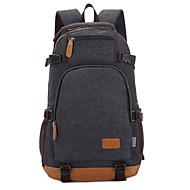 15palcové laptop vak batoh plátno pro studenta / cestovní modrá / černá / khaki / kávy