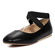 Women's Shoes Glitter Flat Heel Comfort / Ballerina / Round Toe Flats Office & Career / Dress / Casual
