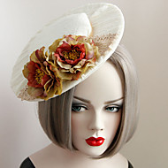 Women's Lace / Fabric Headpiece-Wedding / Special Occasion Fascinators 1 Piece