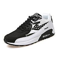 Kényelmes-Lapos-Női cipő-Tornacipők-Szabadidős Sportos-Szövet-Kék Szürke Fekete és fehér