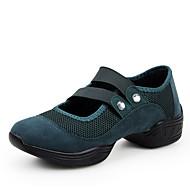 Sapatos de Dança(Preto / Verde / Vermelho) -Feminino-Não Personalizável-Tênis de Dança