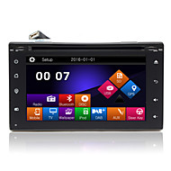 "6.2 ""TFT-touchscreen 2DIN in-dash auto dvd-speler met gps, bt, radio, sd / usb, rds, phonelink"