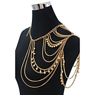 Body Jewelry/Belly Chain Body Chain Acrylic Fashion Gold 1pc
