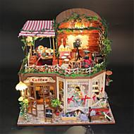 handgemachte Geschenkfertigkeiten DIY große Kabine rui ya Zeit mit einer Haube