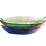 Random Color Dinning Snack Dish Plate Tray