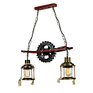 60W Vintage Designers Others Metal Pendant LightsLiving Room / Bedroom / Dining Room / Kitchen
