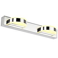 AC 85-265 8W Led Integrado Moderno/Contemporâneo Galvanizado Característica for LED,Luz Ambiente Iluminação de Banheiro Luz de parede