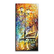 Ručně malované Krajina olejomalby,Styl / Moderní / Klasický / Tradiční / Realismus / Středomoří / Pastýřský / evropský styl Jeden panel