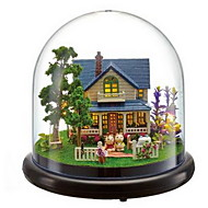 Music Box Around The Transparent Cover Villa Model