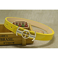 Girls / Boys Belts,All Seasons Faux Leather Black / Blue / Pink / Red / White / Yellow