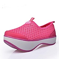 Women's Athletic Shoes Spring / Summer / Fall Wedges Tulle Others Black / Blue / Red Walking