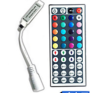 44-מפתח צבע בשלט רחוק עבור dc5-24v נורות LED מחרוזת RGB