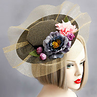 Women's Lace / Fabric / Net Headpiece-Wedding / Special Occasion Fascinators 1 Piece