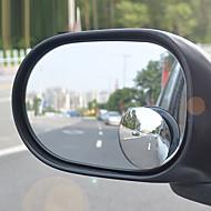 360 grader lille runde spejl efter den justerbare store ekstra køretøj bump blinde vinkel spejl vidvinkelobjektiv